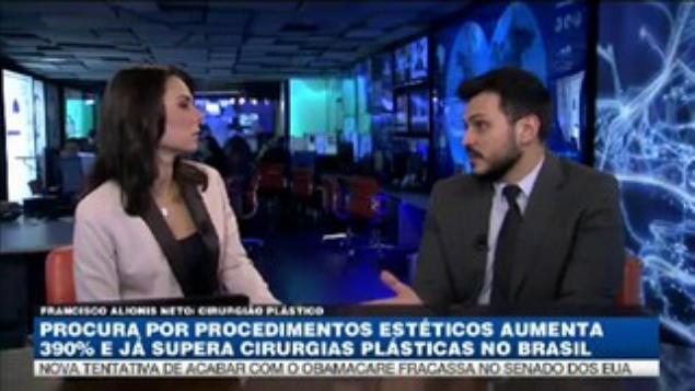 Bandnews - aumento cirurgia plastica